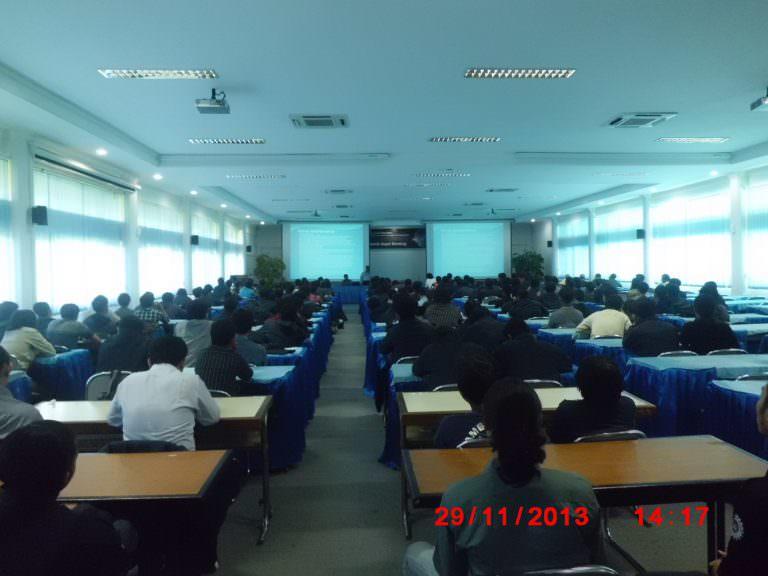 Kuliah Tamu – Alumni dari PT GMF AeroAsia, PT Toyota Motor Manufacturing Indonesia, PT Instrutek Solution dan Pengusaha